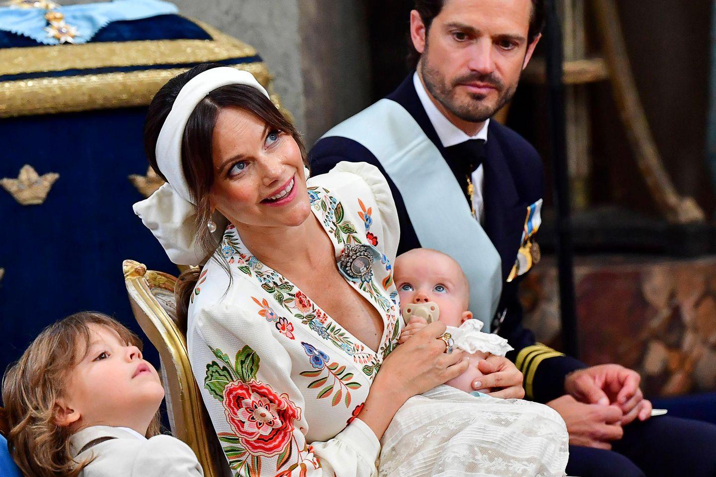 Prinz Gabriel, Prinzessin Sofia, Prinz Julian und Prinz Carl Philip