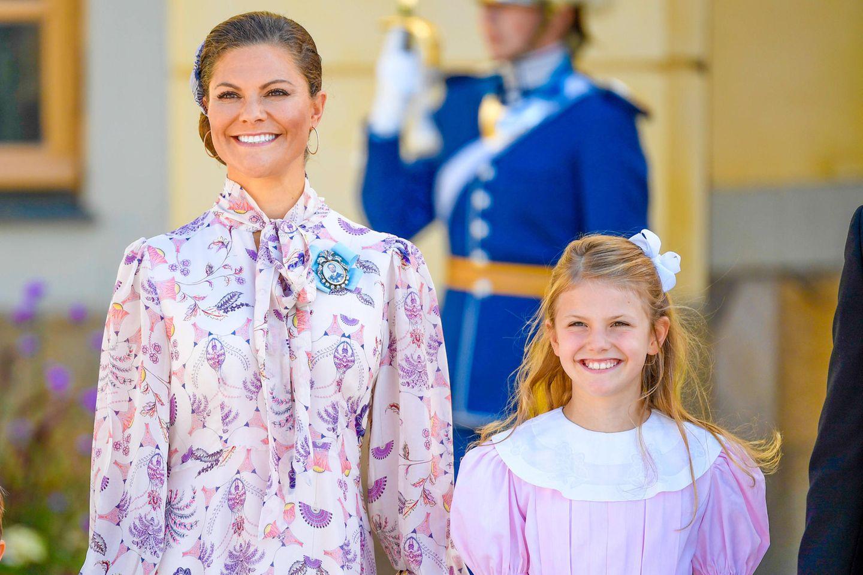 Prinzessin Victoria und Prinzessin Estelle