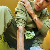 Jada Pinkett Smith zeigt ihr neuestes Tattoo.