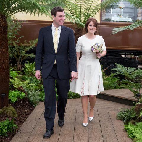 Jack Brooksbank und Prinzessin Eugenie von York
