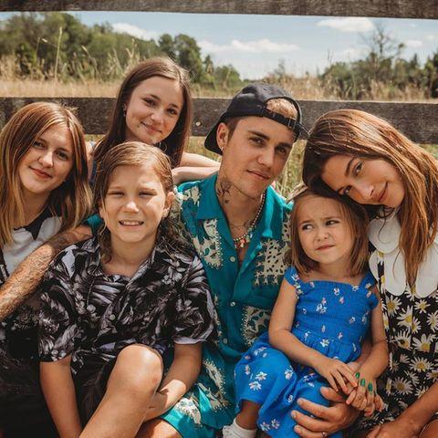 Justin Bieber und Hailey Baldwin: Gemeinsam feiern sie Halbschwester Bay