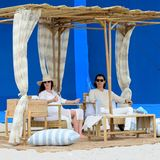 Stars am Set: Anne Hathaway und Jared Leto
