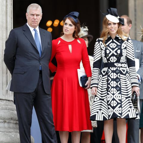 Prinz Andrew, Prinzessin Eugenie und Prinzessin Beatrice