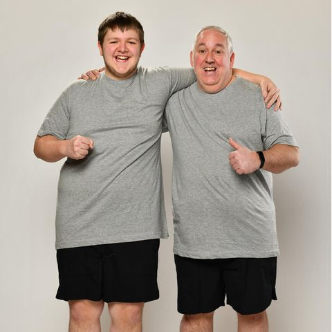 """""""The Biggest Loser – Family Power Couples"""": Lucas und Manni"""