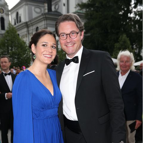 Julia Reuss und Andreas Scheuer