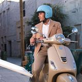 Zac Efron am Set zur Dubai Kampagne