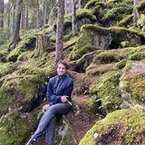Outdoor: Oliver Wnuk im Wald