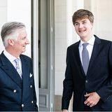 Die Belgische Königsfamilie: Prinz Gabriel wird 18