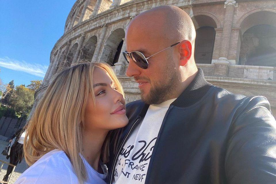 Kim Gloss und Alexander haben in Rom Ja zueinander gesagt