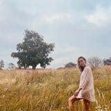 Brie Larson in der Natur