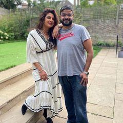 Geschwistar: Priyanka Chopra mit ihrem Bruder