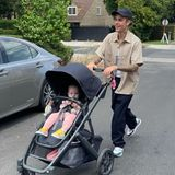 Kinderwagen der Stars: Justin Bieber mit seiner Nichte