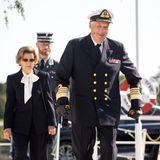 RTK: König Harald und Königin Sonja bei Ausschiffung