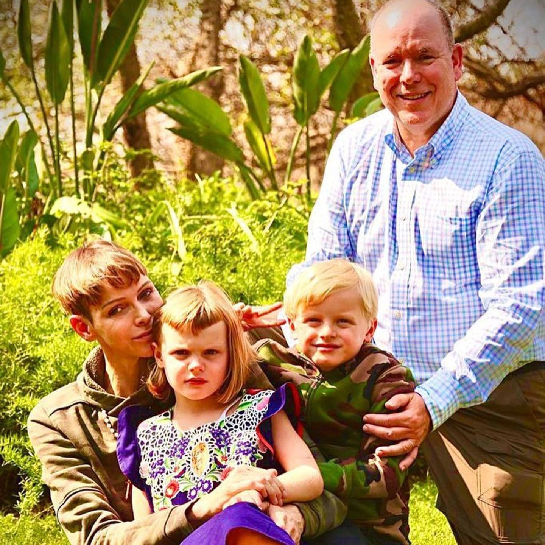 Fürst Albert und Charléne: Die Familie wieder vereint in Südafrika