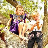 Prinzessin Garbiella und Prinz Jacques in Südafrika