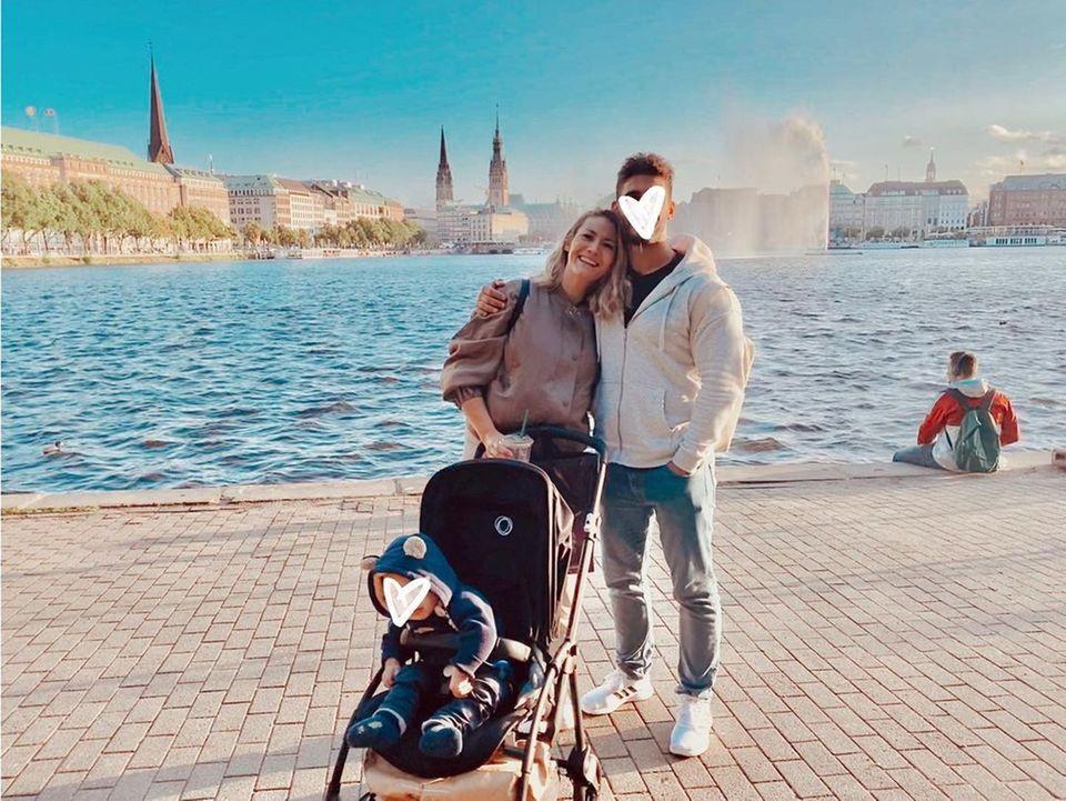 Familienbande: Fiona Erdmann mit Familie zu Besuch in Deutschland