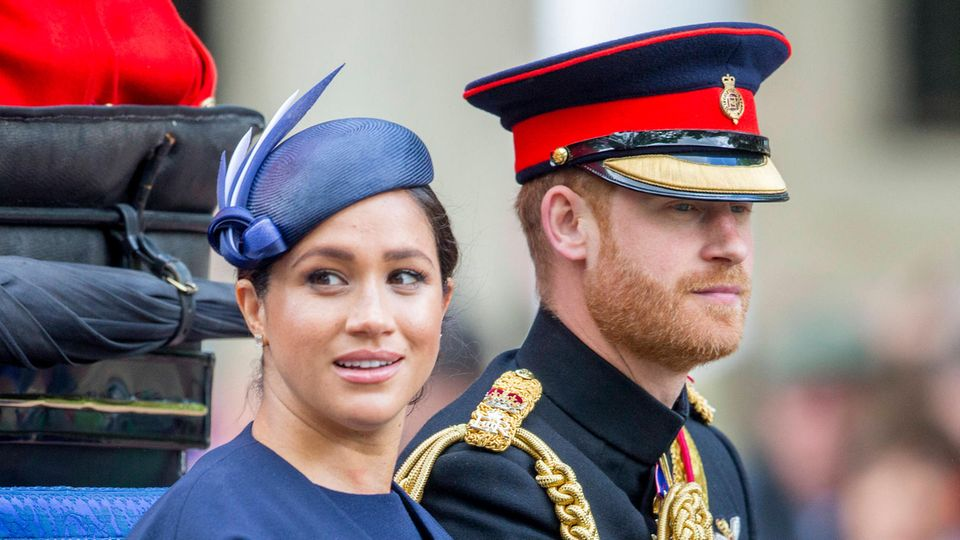 Bei Trooping the Colour