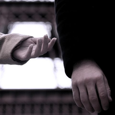 Partnerschaft: Ein Paar auf einer Bank