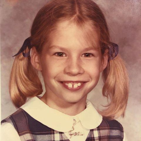 Jugendfotos: Jenna Elfman als Schulmädchen