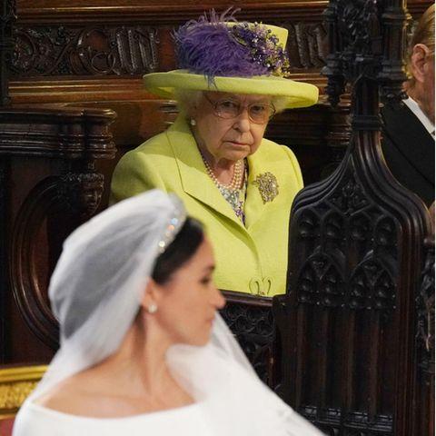 Queen Elizabeth und Herzogin Meghan