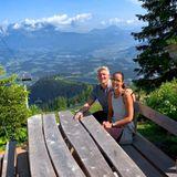 Outdoor: Bastian Schweinsteiger und Ana Ivanović
