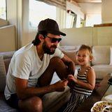 Familie Hudson: Rani mit Papa Danny