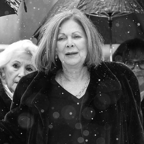 Bei der Beerdigung von Siegfried Rauch