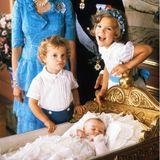 Taufen der Royals: Prinzessin Madeleine´s Taufe vor 39 Jahren