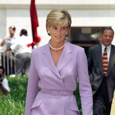 Prinzessin Diana am 17. Juni 1997 in Washington – anderthalb Monate vor ihrem tödlichen Unfall.
