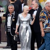 Dame Helen Miren glänzt bei der Dolce&Gabbana-Show