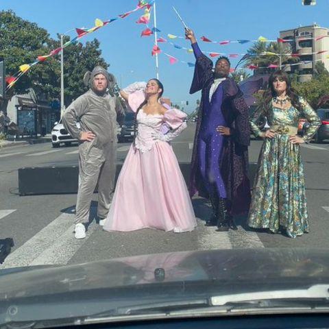 Stars stoppen den Verkehr in Los Angeles