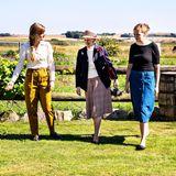 RTK: Königin Margrethe besucht die Thy Whisky Distillery
