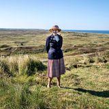 RTK: Königin Margrethe bei ihrem Besuch des Nordatlantik Leuchtturms