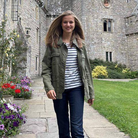 Die stylischen Looks der Teen-Royals: Prinzessin Leonor startet lässig ins neue Schuljahr.