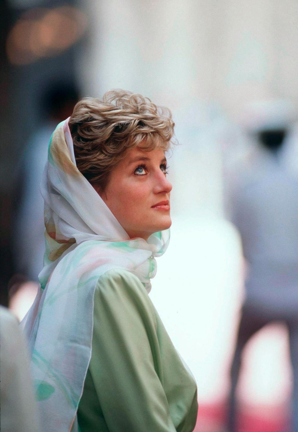 Prinzessin Diana 1992 in Ägypten