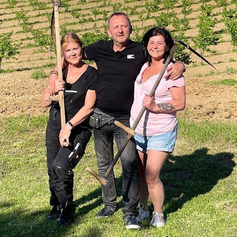 Kandidatin Nevenka, Bauer Ivica und Kandidatin Isolde
