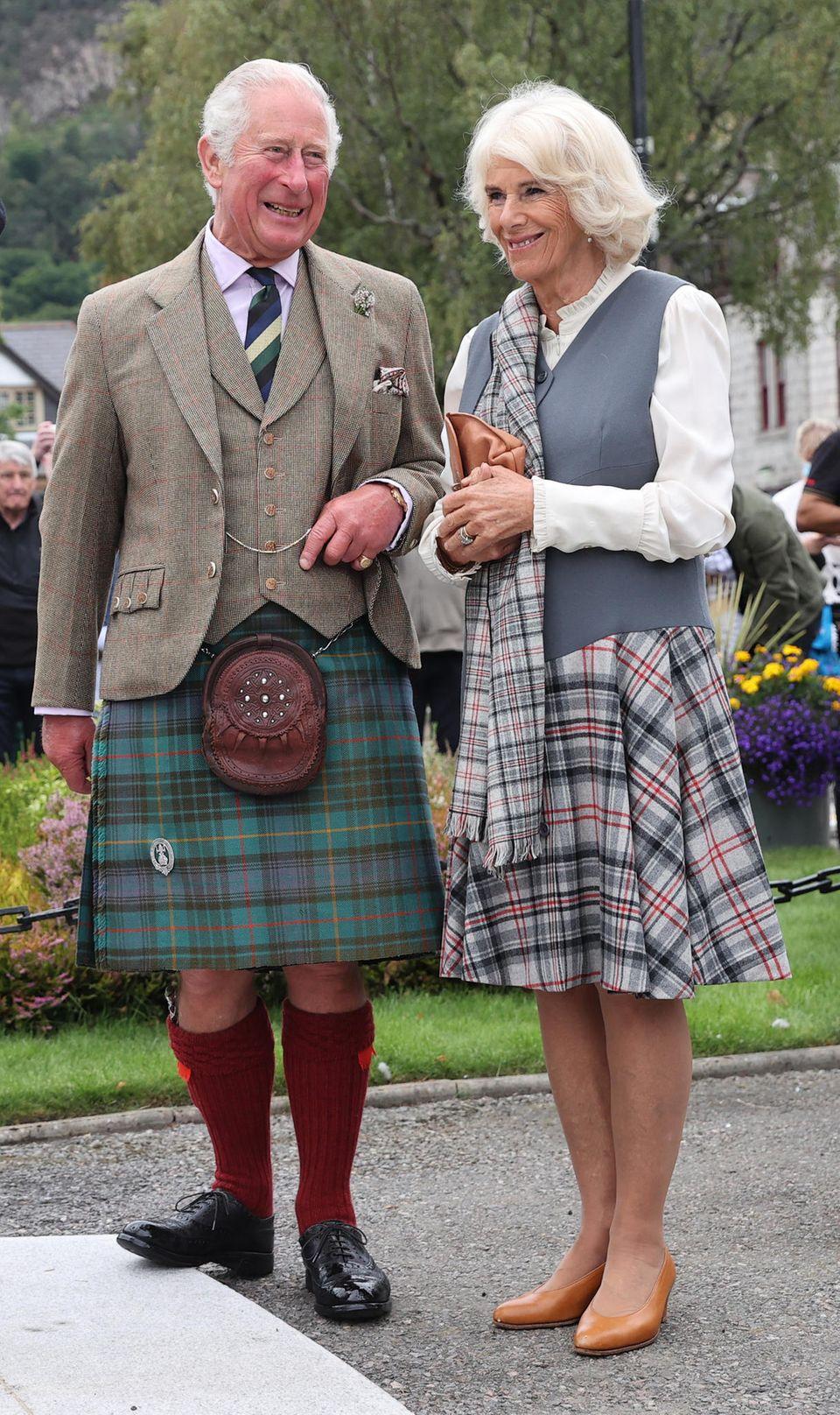Prinz Charles und Herzogin Camilla zu Besuch in Ballater