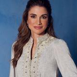 Heute am 31. August 2021 feiert Königin Rania von Jordanien ihren 51. Geburtstag. Wir gratulieren und freuen uns auf viele weitere schöne royale Looks der Style-Queen!