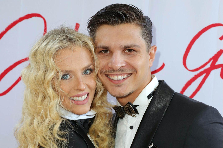 Patricija Belousova undAlexandru Ionel erwarten ihr erstes gemeinsames Kind.
