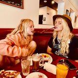 Mahlzeit: Jessica Simpson mit Tochter