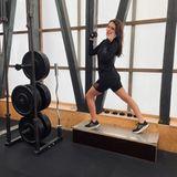 Stars beim Sport: Ruby O. Fee behrrscht Multitasking auch beim Sport