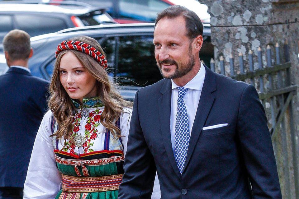 Prinzessin Ingrid Alexandra und Prinz Haakon von Norwegen