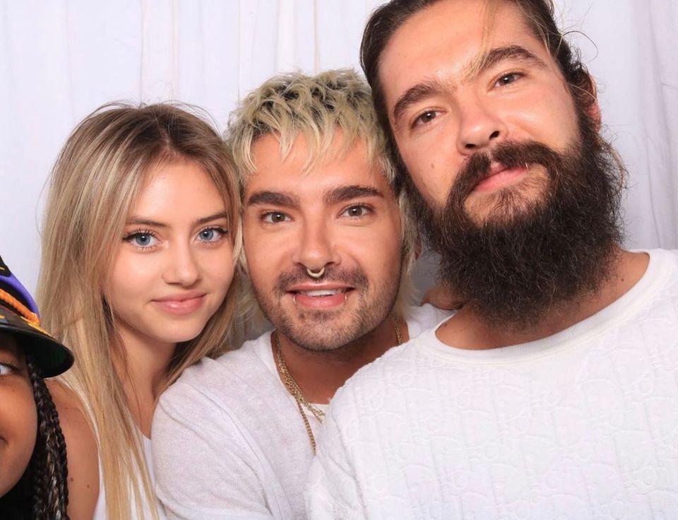 Heidi Klum + Kids: Beim Geburtstag der Kaulitz-Brüder hat Leni Spaß mit Bill und Tom