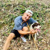 Hollywuff: Wladimir Klitschko mit Hund