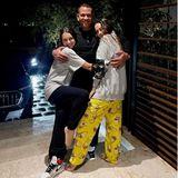Familienbande: Alexander Rodriguez kuschelt mit seinen Töchtern