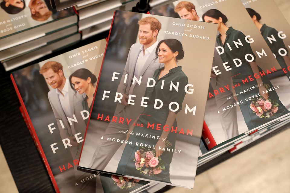 """Die Biografie """"Finding Freedom"""" von Prinz Harry und Herzogin Meghan"""