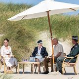 RTK: Königin Margrethe Picknick in den Dünen