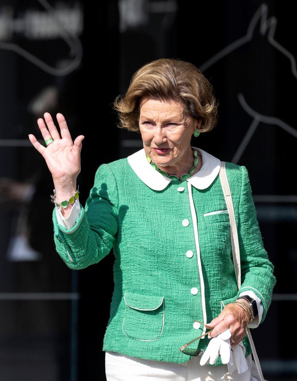 RTK: Königin Sonja bei einer Eröffnung in Oslo