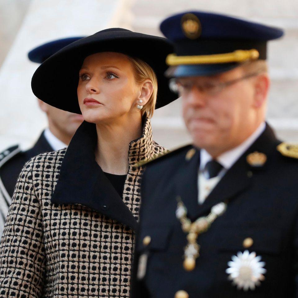 Fürstin Charlène und Fürst Albert