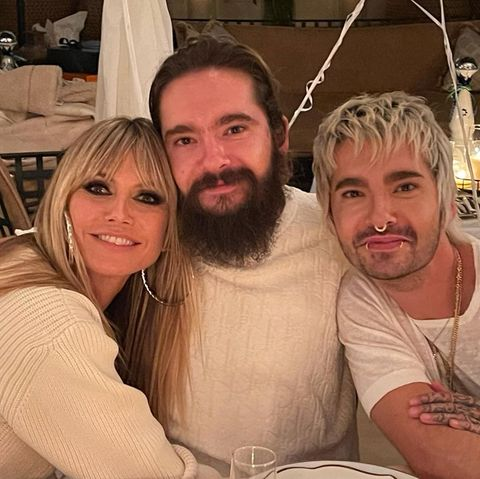 Heidi Klum, Tom Kaulitz und Bill Kaulitz